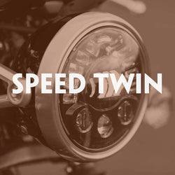 Motodemic LED Headlight for Triumph Speed Twin