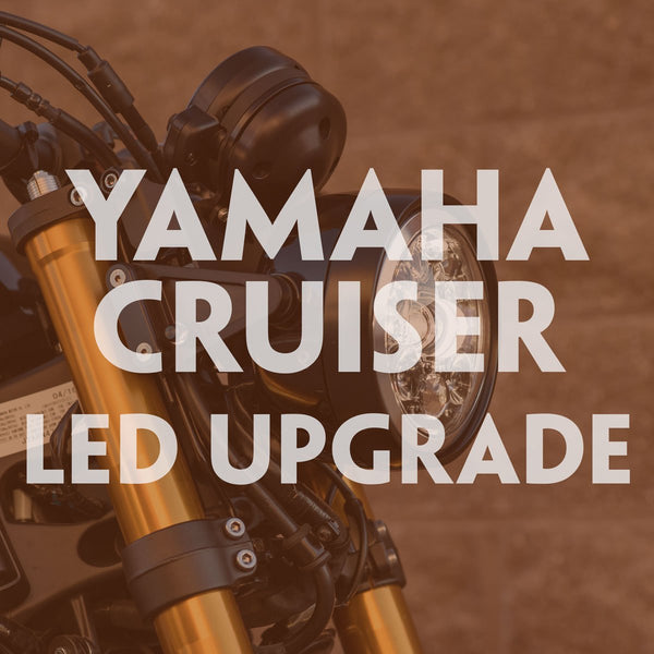 Motodemic Yamaha Cruiser LED Headlight Upgrade