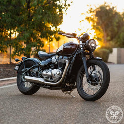 Motodemic Triumph Bobber 7-Inch Headlight Conversion