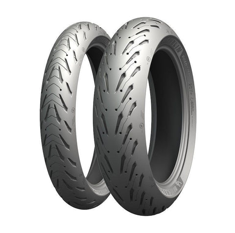 MICHELIN ROAD 5 COMBO DEAL 120/70-17 + 190/50-17