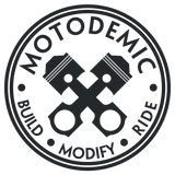 Motodemic Woodcraft Clip-Ons for Speed Triple