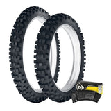 DUNLOP - 952 ENDURO FRONT & REAR TYRE & TUBE KIT - 120/90-18
