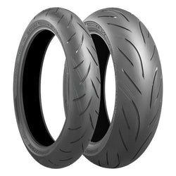 BRIDGESTONE BATTLAX HYPERSPORT S21 PAIR DEAL with FREE BRS-1 RIDING SHOES