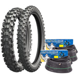 MICHELIN STARCROSS 5 100/100-18 90/100-21 MEDIUM TYRE/TUBE SET