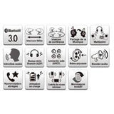 SENA SMH10D-10 MOTORCYCLE BLUETOOTH HEADSET / INTERCOM DUAL PACK