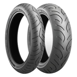 BRIDGESTONE BATTLAX SPORT TOURING T30 EVO PAIR DEAL with FREE BRS-1 RIDING SHOES