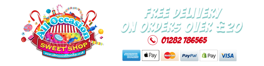 All Occasion Sweet Shop - Free Delivery On Orders Over £20