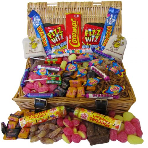 1980's Retro Sweets Hamper