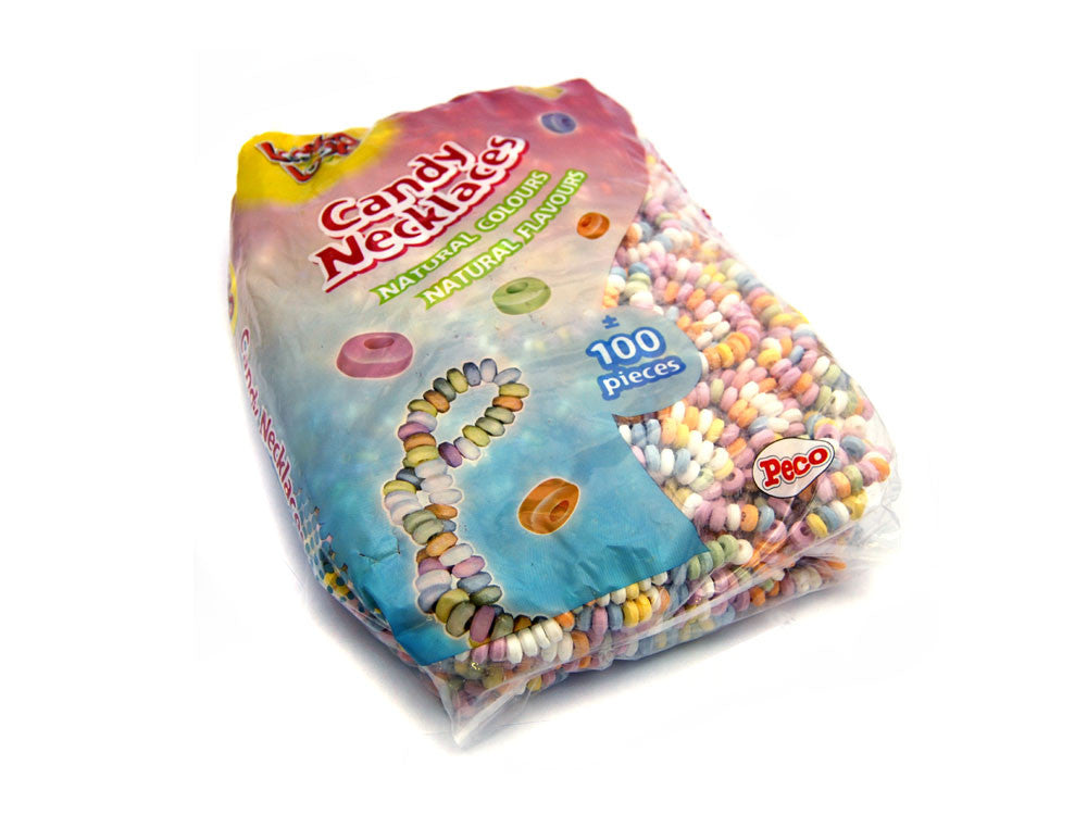 Candy Necklaces Full Bag 2.25KG 100 Pieces