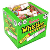 Candy Whistles Full Tub 60 Pieces