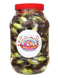 Chocolate Limes Retro Sweets Jar (1 Litre)