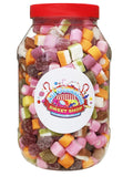 Dolly Mixture Retro Sweets Jar (1 Litre)