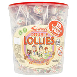 Double Lollies Full Tub 130 Lollipops