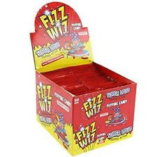 Fizz Wiz Strawberry Popping Candy (Space Dust) Full Box 50 Packets