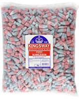 Fizzy Bubblegum Bottles Full Bag 3KG