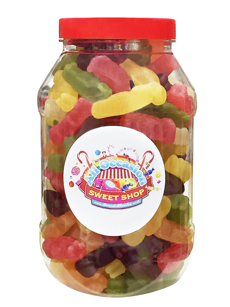 Jelly Babies Retro Sweets Jar (1 Litre)
