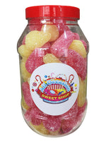 Large Pear Drops Retro Sweets Jar (1 Litre)