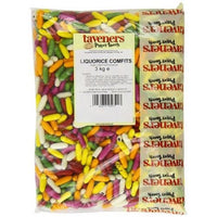 Liquorice Comfits Full Bag 3KG