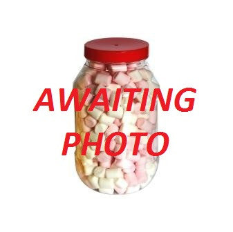 Heart Throbs Retro Sweets Jar (1 Litre)