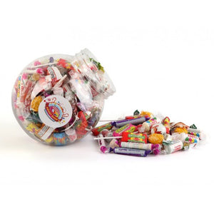 Tilted Retro Sweets Selection Jar - Large (3.2 Litre)