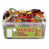 Haribo Giant Dummies Sweets Tub