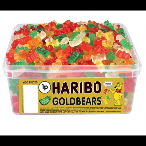 Haribo Goldbears Sweets Tub