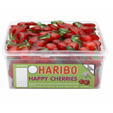 Haribo Happy Cherries Sweets Tub