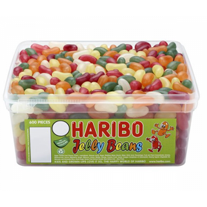 Haribo Jelly Beans Sweets Tub