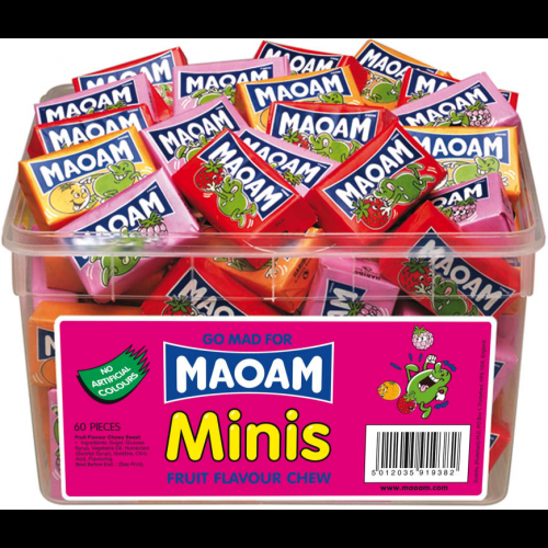Maoam Minis Chews Sweets Tub