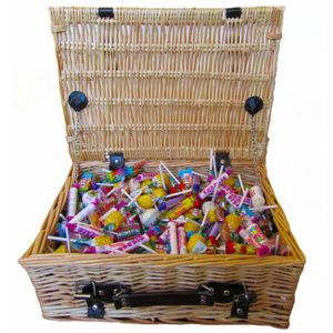 Wrapped Retro Sweets Hamper - Large