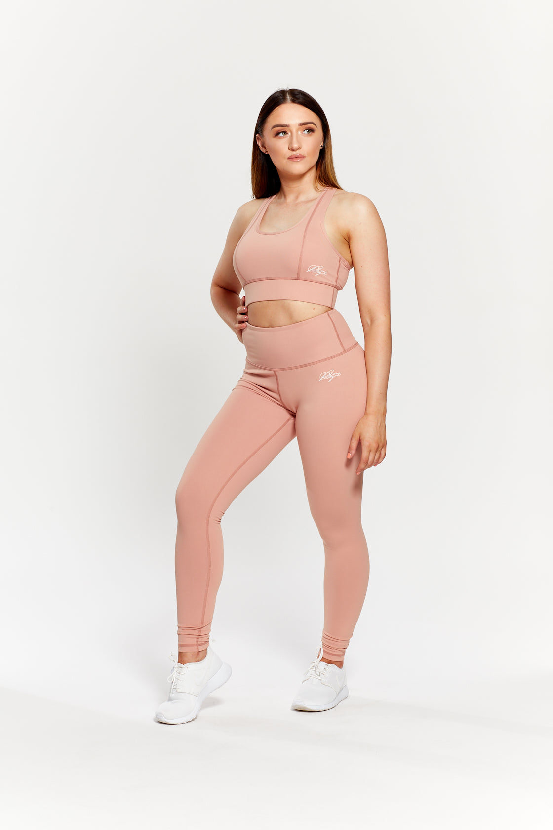 NUDE PEACH HIGH WAIST LEGGINGS