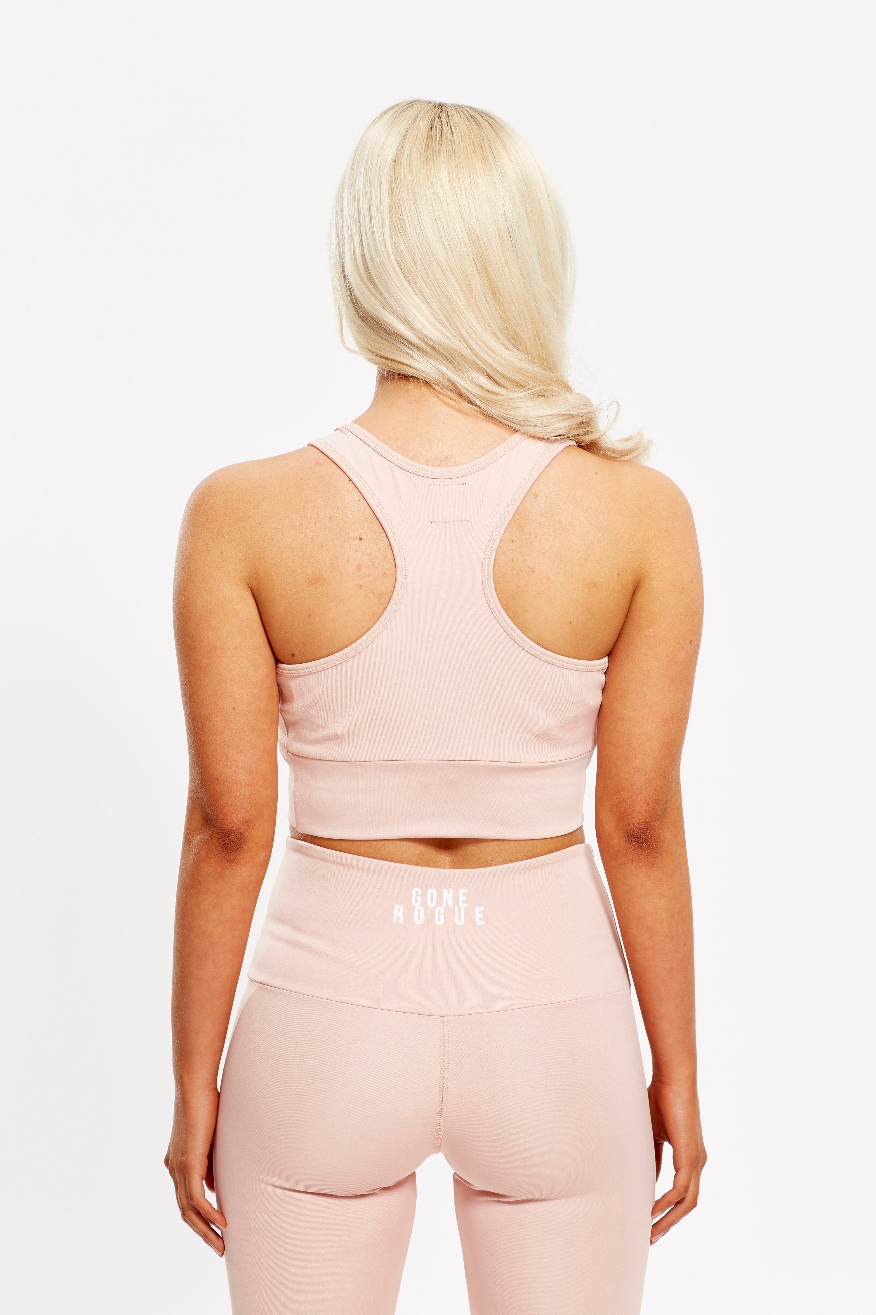 Crop Top - Dusty Pink / SALE