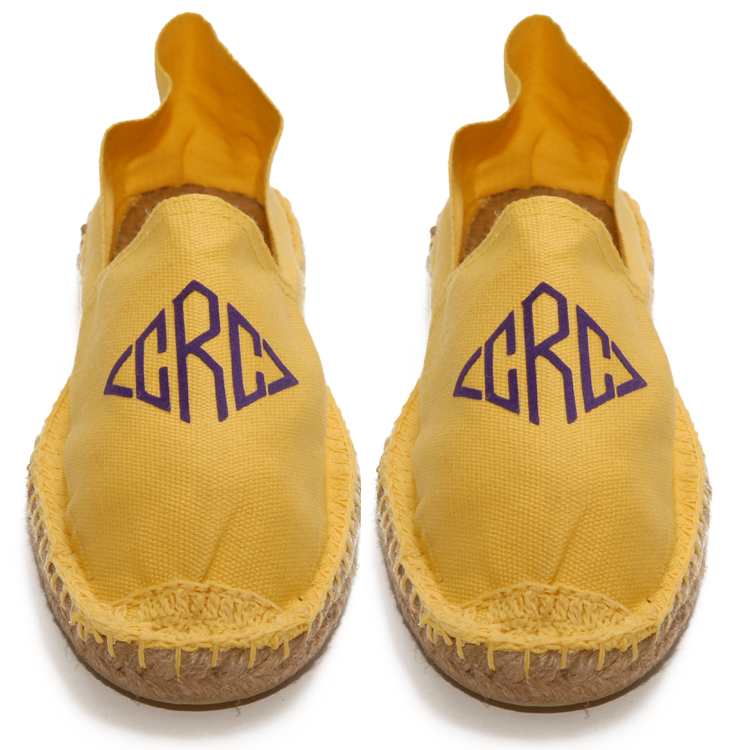 Mens Yellow Espadrilles
