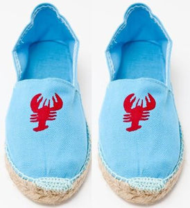 Childrens Blue Espadrilles AP