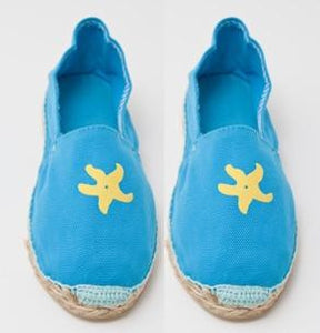 Childrens Blue Espadrilles