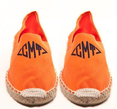 Womens  Orange Espadrilles
