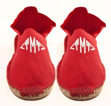 Womens Red Espadrilles