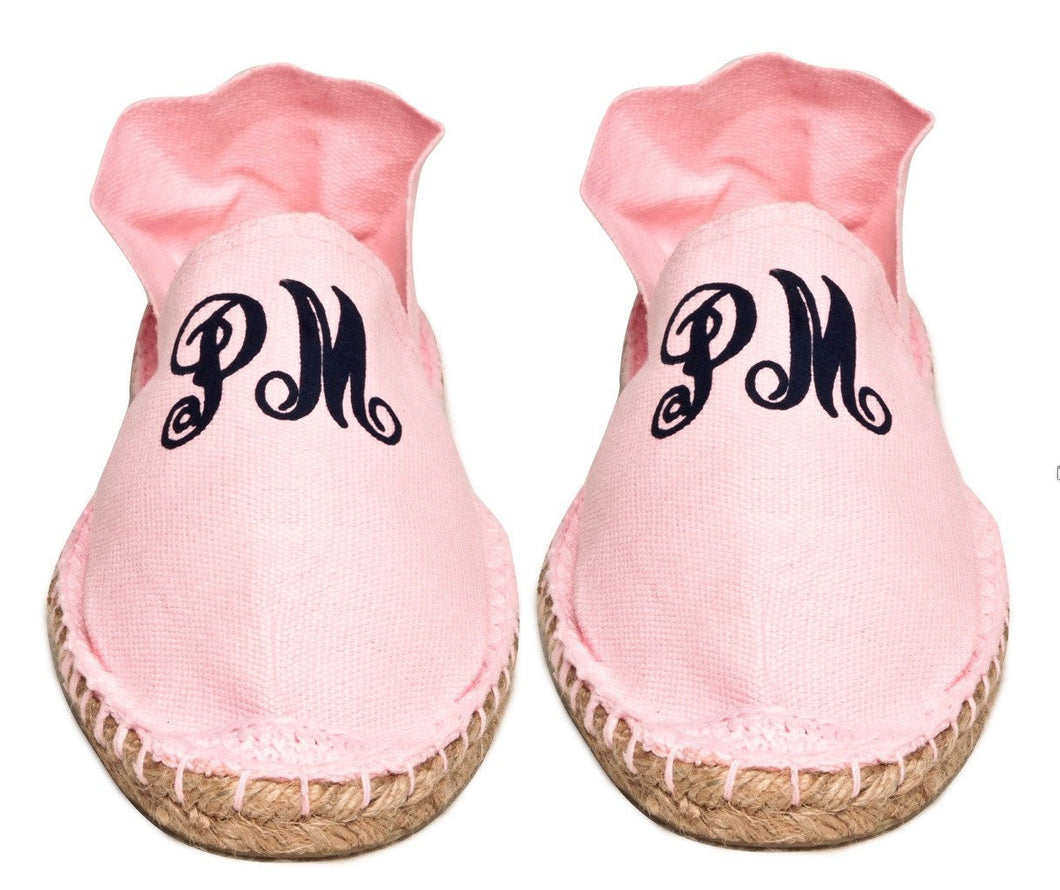 Womens Light Pink Espadrilles