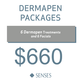 6 Dermapen Treatments and 6 Facials