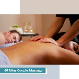 60 Mins Couple Massage