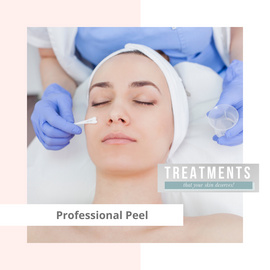 Professional Peel Treatment