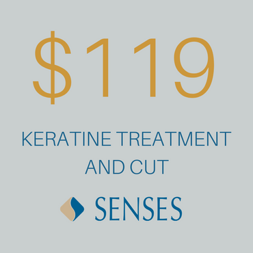 Keratin Hair Treatment & Cut $119