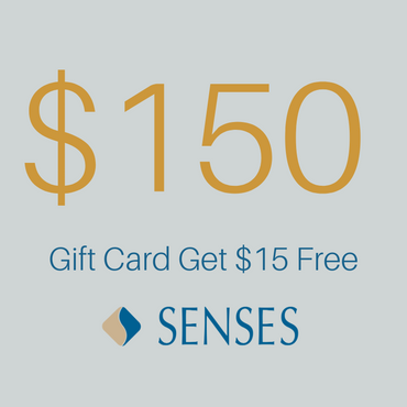 One Hundred and Fifty Dollars Gift Card Get 15 Dollars Free