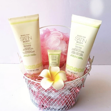 Body Wash and Scrub Set