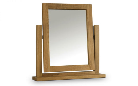 Marlborough Oak Dressing Table Mirror - Furniture - Dream Floors and Furniture Ashton-Under-Lyne, Manchester