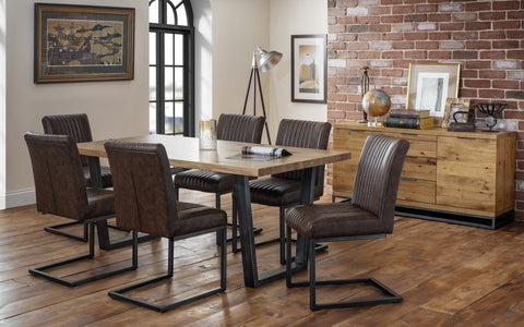Brooklyn Dining Set 6 Chair - Furniture - Dream Floors and Furniture Ashton-Under-Lyne, Manchester