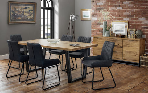 Brooklyn Dining Set Soho 6 Chair - Furniture - Dream Floors and Furniture Ashton-Under-Lyne, Manchester