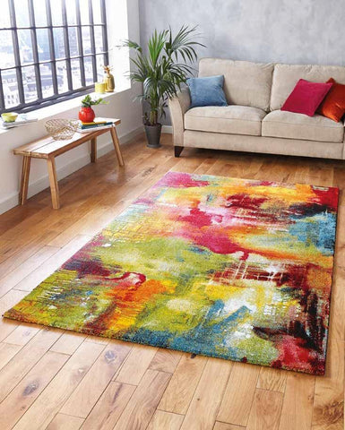 Sunrise 20754 Multi - Rug - Dream Floors and Furniture Ashton-Under-Lyne, Manchester