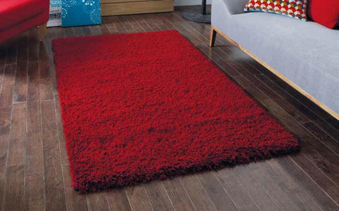 Vista 2236 Red Circle - Rug - Dream Floors and Furniture Ashton-Under-Lyne, Manchester