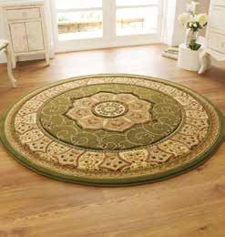 Heritage 4400 Green Circle - Rug - Dream Floors and Furniture Ashton-Under-Lyne, Manchester
